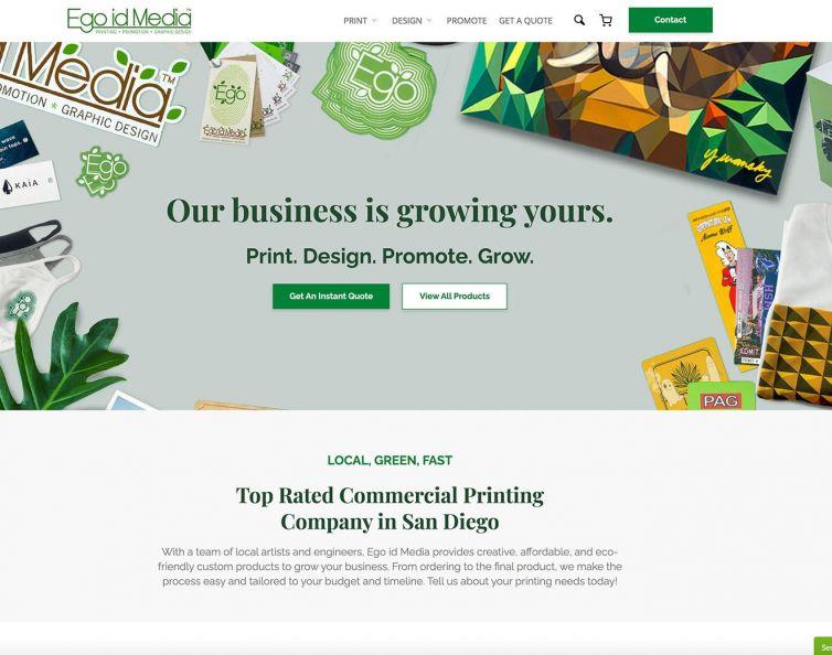 EgoidMedia – Woocommerce printing shop