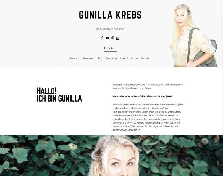 Gunilla Krebs – Travel Blog